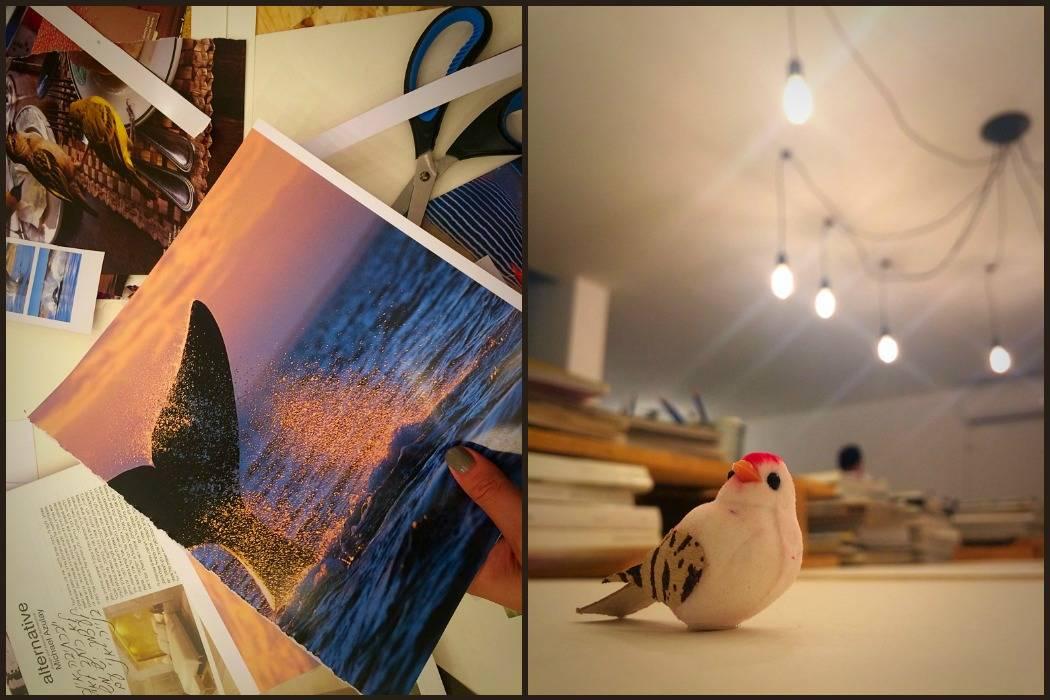 סדנת לוחות השראה וחזון בסטודיו של תמרי סלונים ליבס מהבלוג tamariandme. com (צילום נתלי תמיר)