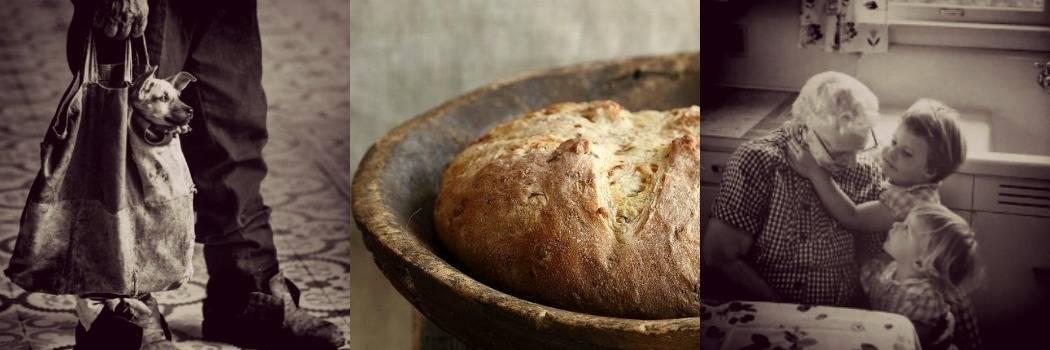 סבתא, לחם ביתי, הומלס. מתוך הבלוג Tamari and me של תמרי סלונים ליבס פוסט: בית.