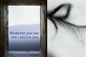 עיניים שוכבות על מילים. חלון לים התיכון. התחלה סוף נקודה. מתוך הבלוג של תמרי אנד מי