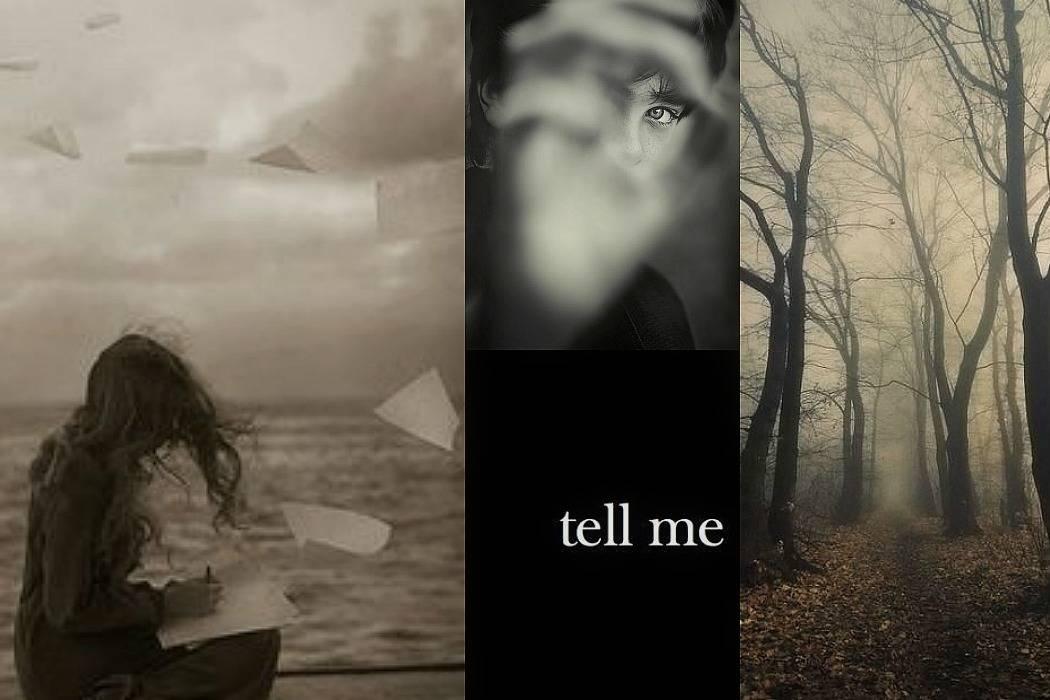 יער, עיניים, tell me, אישה בים מתוך הבלוג Tamari and me של תמרי סלונים ליבס פוסט: סודות