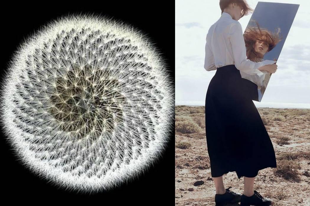שדות אישה עם מראה, סביון, מתוך הבלוג של תמרי אנד מי פוסט על יום הולדת תמרי סלונים ליבס