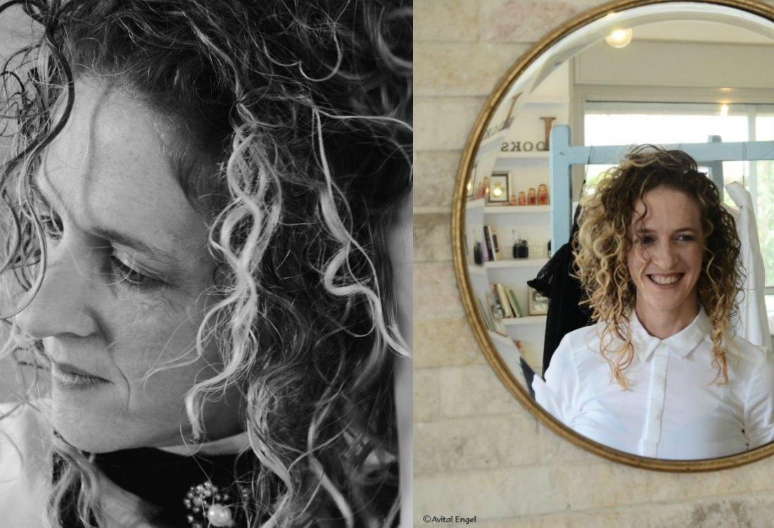 הגר אשחר ניר מתוך מאחורי הקלעים של פרוייקט האיימיש בבלוג של tamariandme.com צילום: אביטל אנגל