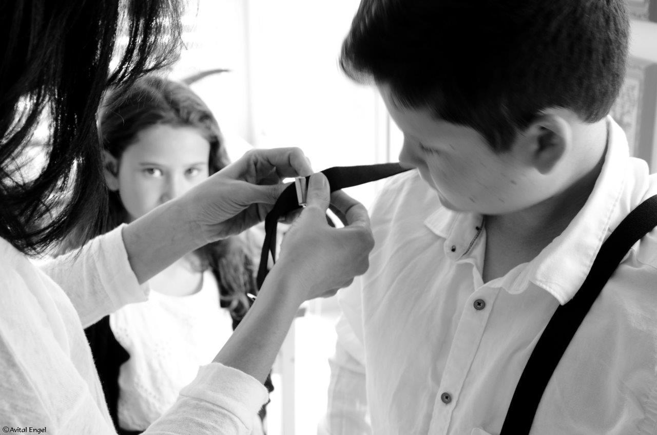 ילד עם שלייקס, הכנות לצילומים פרויקט האיימיש מתוך הבלוג tamariandme של תמרי סלונים ליבס